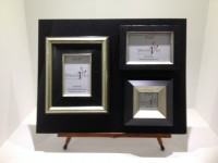 set of 3 bespoke frame image