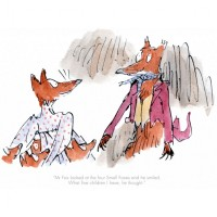 Fantastic Mr Fox - 'Mr Fox looked at the four small foxes' image