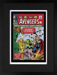 The Avengers #1 – Earth's Mightiest Super-Heroes! (Giclee on Paper) image