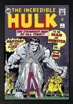 The Incredible Hulk #1 – The Strangest Man of All Time! Boxed Canvas image
