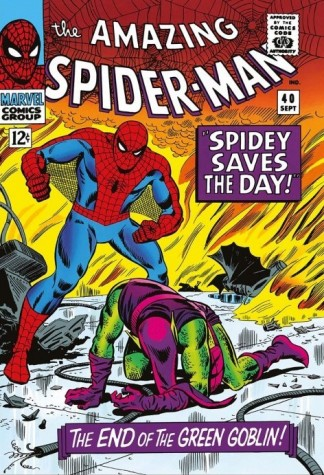 Signed Stan Lee The Amazing Spider-Man #40 Spidey Saves The Day Canvas image