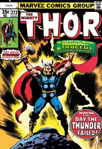The Mighty Thor #272 - Triumph or Tragedy | Stan Lee Marvel image