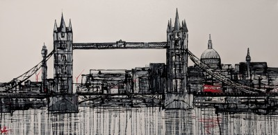Towering Over - Original | Paul Kenton | WAS £3050 image