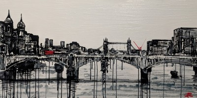 Under the Bridge - Original | Paul Kenton | WAS £3050 image