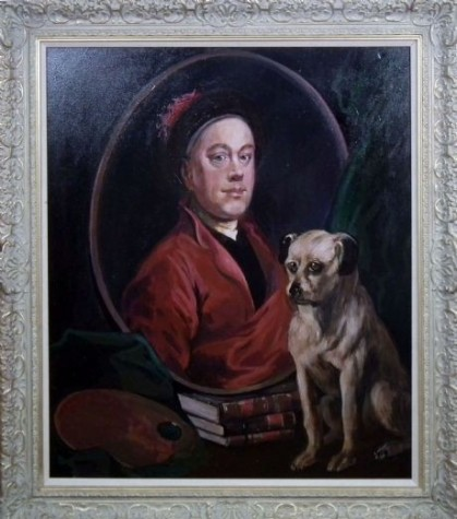 William Hogarth - Original John Myatt  image